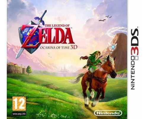 Juego De Nintendo 3ds Zelda Ocarina Of Time! Mejor Precio!