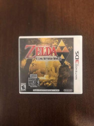 Juego The Legend Of Zelda: A Link Between Worlds 3ds Nintend