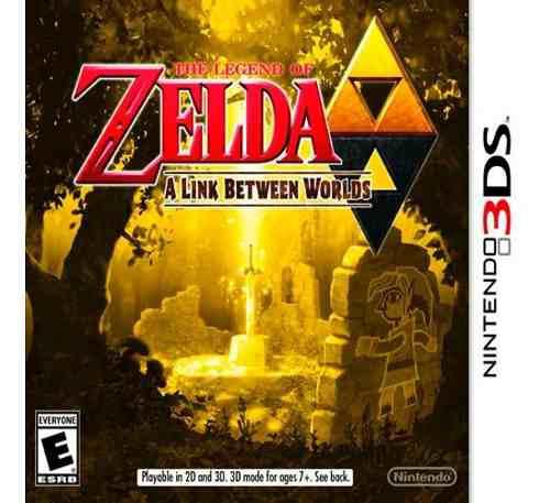 Juego The Legend Of Zelda A Link Between Worlds 3ds Nuevo