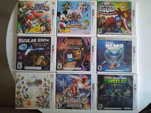 Power Rangers Megaforce Nintendo 3ds Juegos Originales