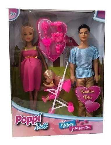 Barbie Embarazada Bebe Ken Nena Accesorios Muñecas
