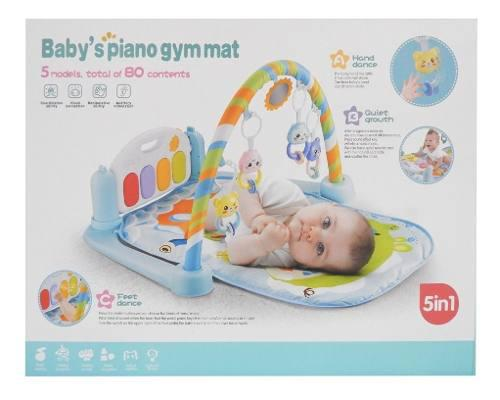 Gimnasio Para Bebe C/ Manta-piano Luz Y Sonido 1700155