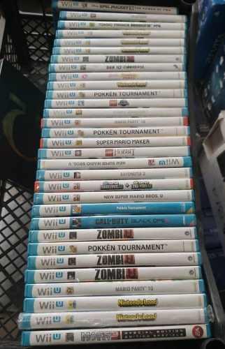 Juegos Originales Fisicos Para Nintendo Wii U