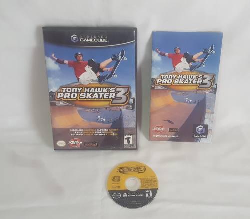 Tony Hawk Pro Skater 3 Juego Nintendo Gamecube Original