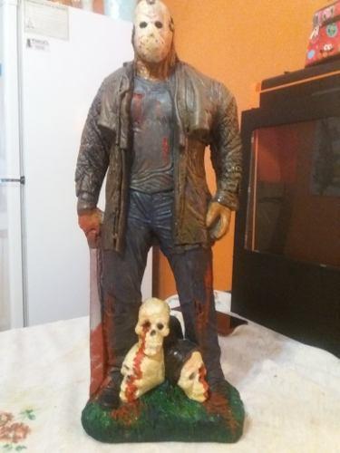 Estatua De Yeso De Jason