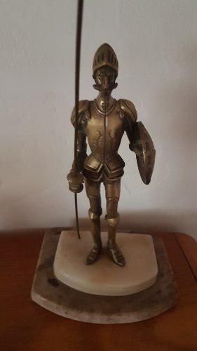 Estatua Don Quijote De Bronce Con Base De Marmol