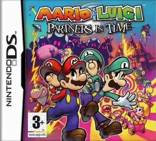 Mario & Luigi Partners In Time. Sólo Para Nintendo Ds Lite