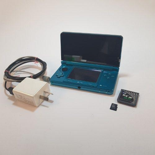 Nintendo 3ds Flasheada Con 53 Juegos + Memoria 8gb Local