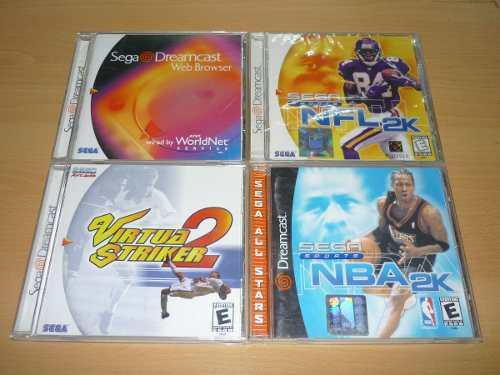 Juegos Para Consola Sega Dreamcast Nfl2k Y Nba2k