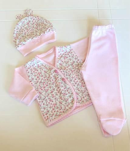 Ajuar Nacimiento Set Bebé 3 Piezas Baby Shower