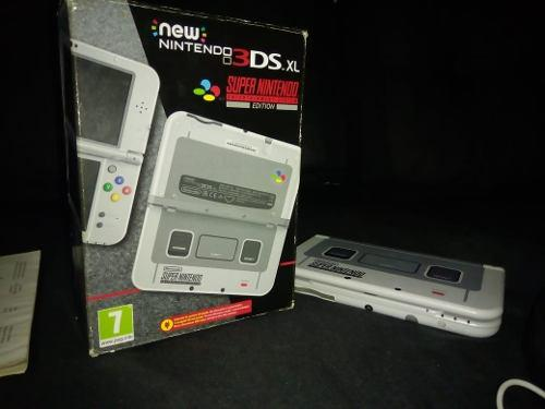 New Nintendo 3ds Xl Snes Edition + Cargador