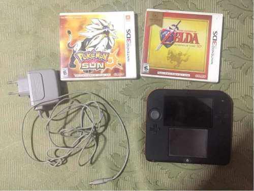 Nintendo 2ds Usada (flasheada)