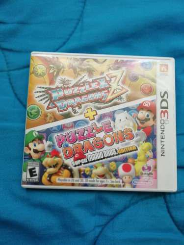 P&d Z + Edicion Super Mario Americano Nintendo 3ds