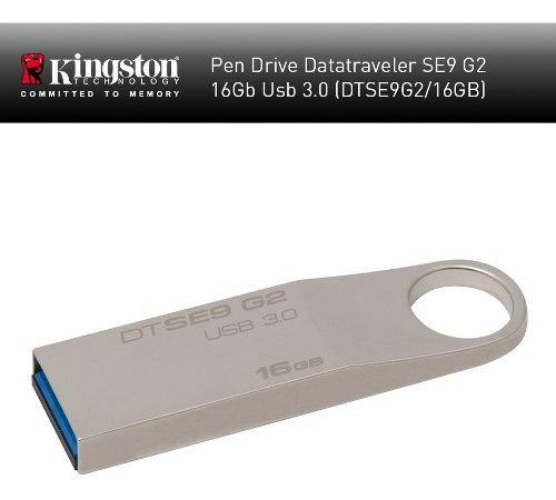 Pendrive Kingston 16gb. Se9 G2 Usb 3.0