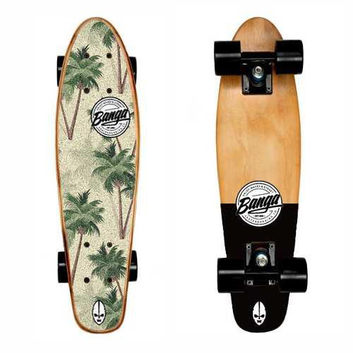 Mini Cruiser Maple Longboard 24 | Penny | Surf Skate Banga
