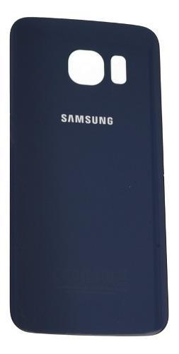 Tapa Trasera Samsung Galaxy S6 Flat G920 Azul Oscuro