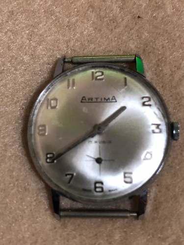 Antiguo Reloj De Pulsera De Hombre