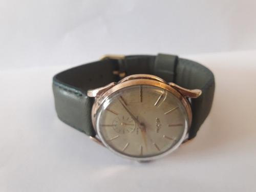 Antiguo Reloj Pulsera Hombre Delbana, Cuerda 40mm.