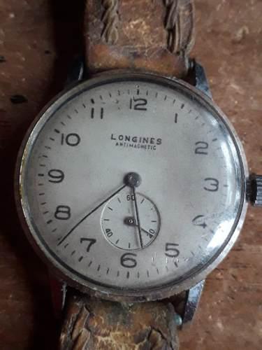 Antiguo Reloj Pulsera Longines Hombre