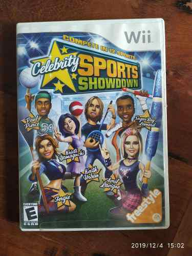 Celebrity Sports Showdown Nintendo Wii Juego Fisico Original