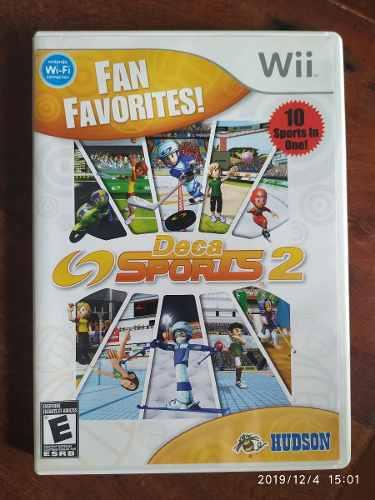 Deca Sports 2 Nintendo Wii Juego Fisico Completo
