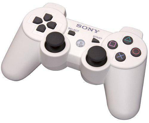 Joystick Blanco Sony Ps3 Dualshock 3 Blister Sellado Origina