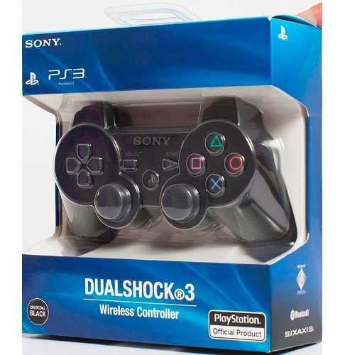 Joystick Ps3 Sony Dualshock Original En Caja Local Garantia