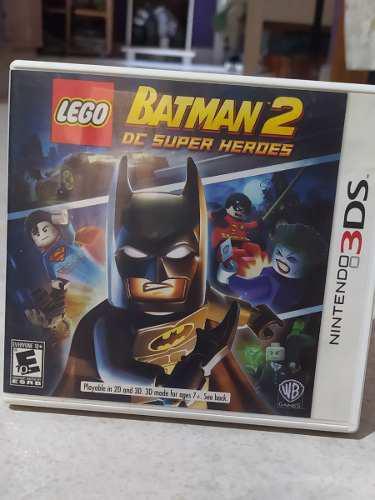 Juego Lego Batman 2 Dc Super Heroes Nintendo 3ds