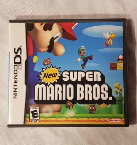 Juego New Súper Mario Bros Nintendo Ds Físico Local