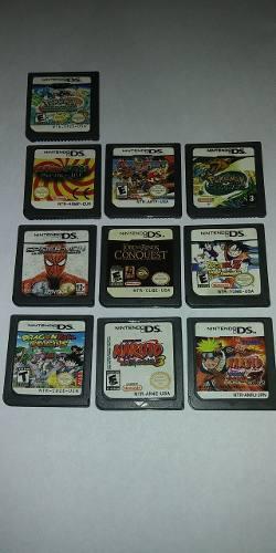 Juegos Para Nintendo Ds Lite Mario Dragonball Pokemon Otros