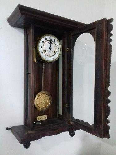 Reloj Antiguo De Pared Junghans