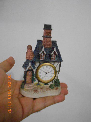 Reloj De Mesa O Vitrina - Casita Antigua