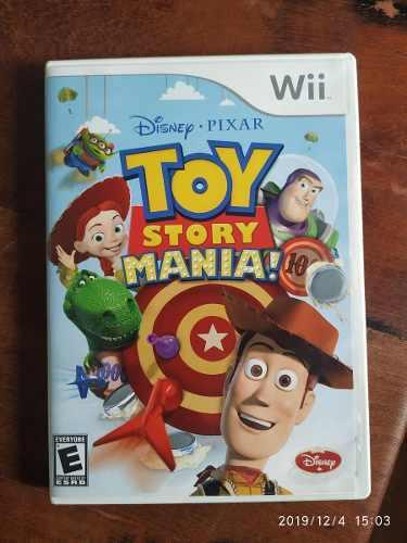 Toy Story Mania Nintendo Wii Juego Fisico Original