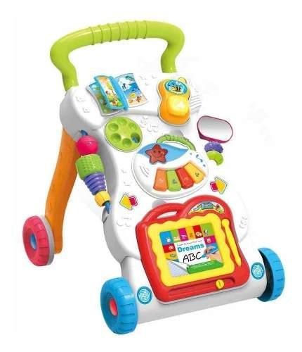 Andador Caminador Bebé Con Luz, Sonido Y Set De Actividades