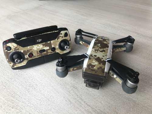 Drone Dji Spark Como Nuevo C/accesorios