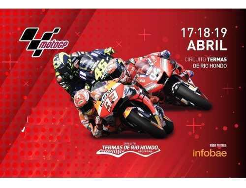 Entradas Moto Gp 2020 - Abril - Termas Rio Hondo