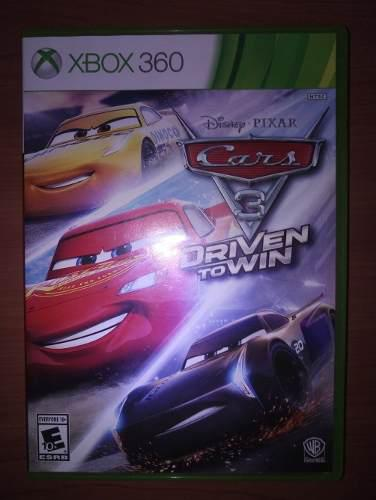 Juego Fisico Original Xbox 360 Cars 3 Driven To Win Rayo Mac