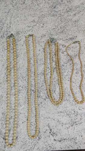 Collares De Perlas Antiguedad Ideal Productora