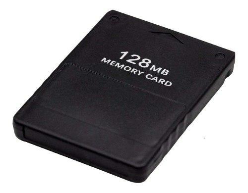 Memory Card 128mb Ps2 Juegos Almacenamiento Gammer Play 2