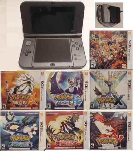 Consola Portátil New Nintendo 3ds Xl 7 Juegos + Cargador
