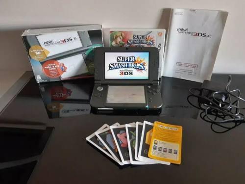 New 3ds Xl + Cargador + Smash Bros (leer Descripción)
