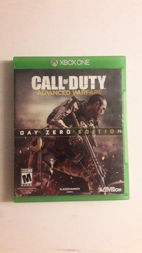 Juego Call Of Duty Avanced Warfare Para Xbox One Fisisco