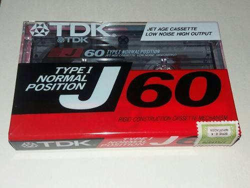 Cassette Tdk J60 Precio Por Unidad