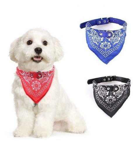 Collar Pañuelo Bandana Para Perros Y Gatos