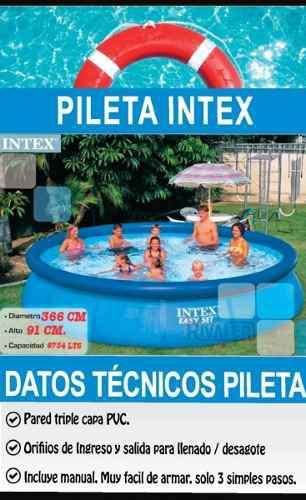 Vendo Pileta Intex Mas Accesorios De Limpieza