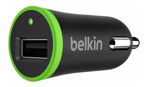 Cargador Belkin Auto Carga Rápida 12w2.4amp Boostup