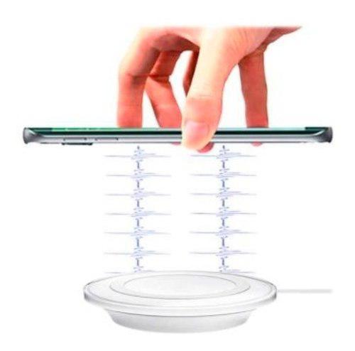 Cargador Inalambrico Qi Celular Samsung iPhone Envio Gratis