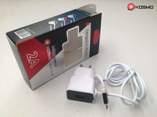 Cargador Usb 5v 2 Amper Kosmo P/ Lg Q6 G3 G4 K4 K7k10 Flex