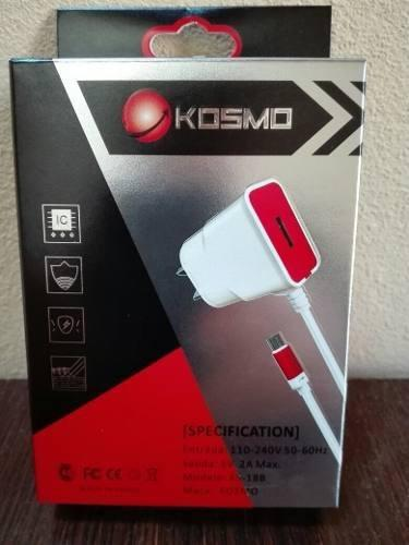 Cargador Usb 5v 2 Amper Kosmo P/ Motorola G E E2 X X2 Play