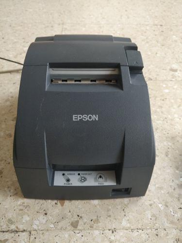 Impresora Epson Tm-u220d Comandera Impecable + Accesorios